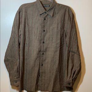 Issey Miyake Japan Crinkled Long Sleeve Shirt